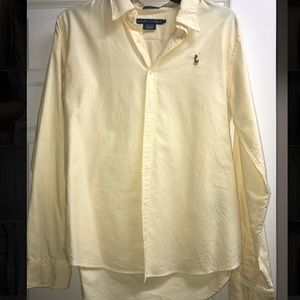 Women's slim Ralph Lauren Oxford Button up shirt